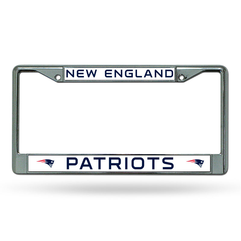 MLB BOSTON RED SOX CHROME AUTO LICENSE PLATE FRAME – METAL – RED SOX ...