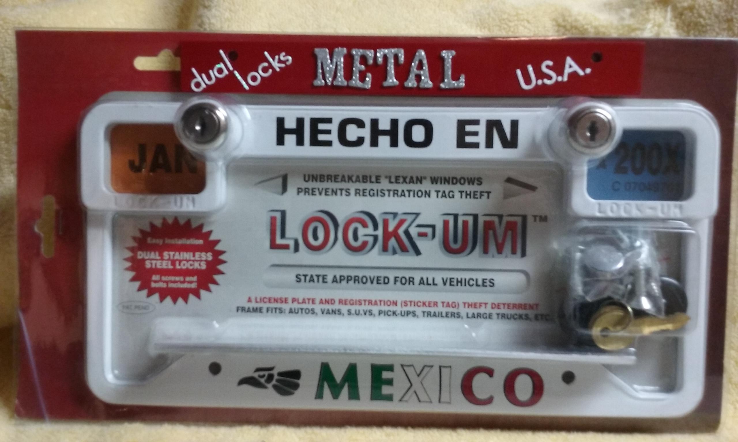 Dual Locks Metal Usa Hecho En Mexico Lockum